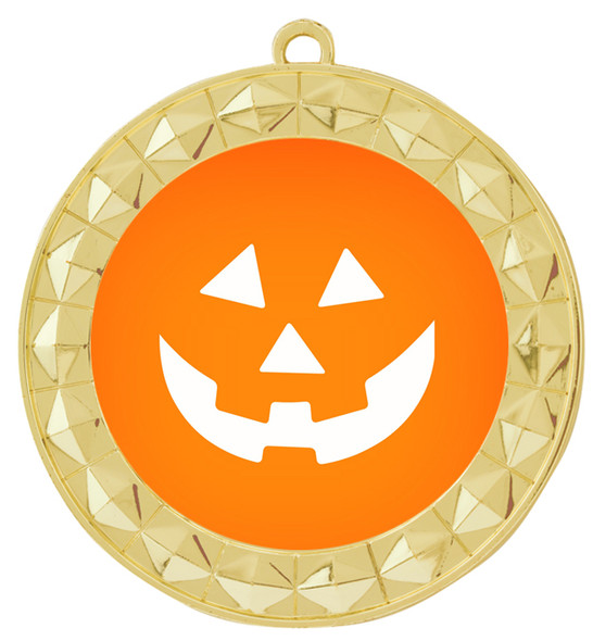 Halloween theme medal.  Choice of art work.  Includes free engraving and neck ribbon