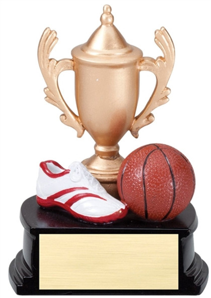 """Resin Cup and Theme Trophy  5"""" tall TR-RCT03"""