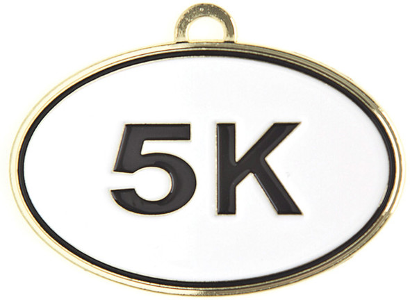 Marathon Medal with free engraving and neck ribbon - 5k