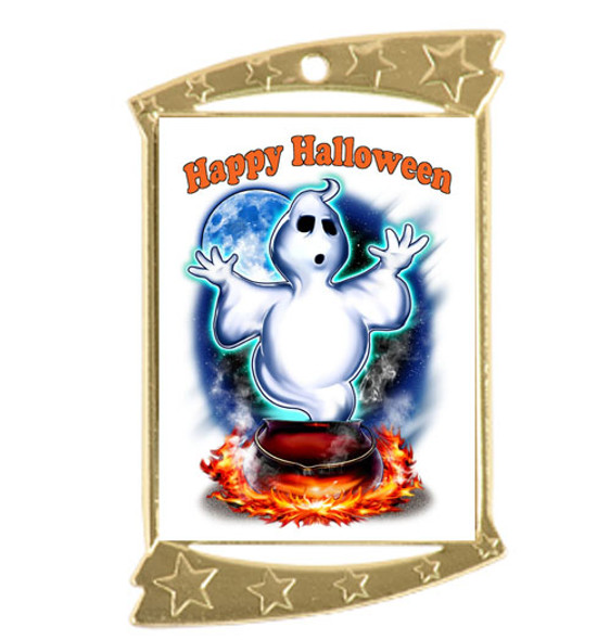 Halloween medal.  Perfect for your Halloween events, pageants, and contests!