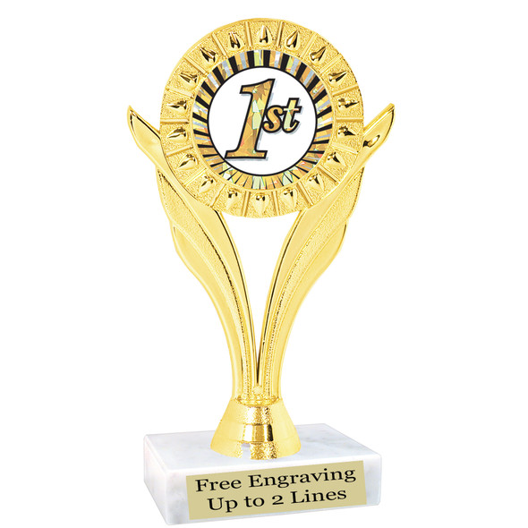 Discontinued Trophy.  Quantities are limited.  ph80