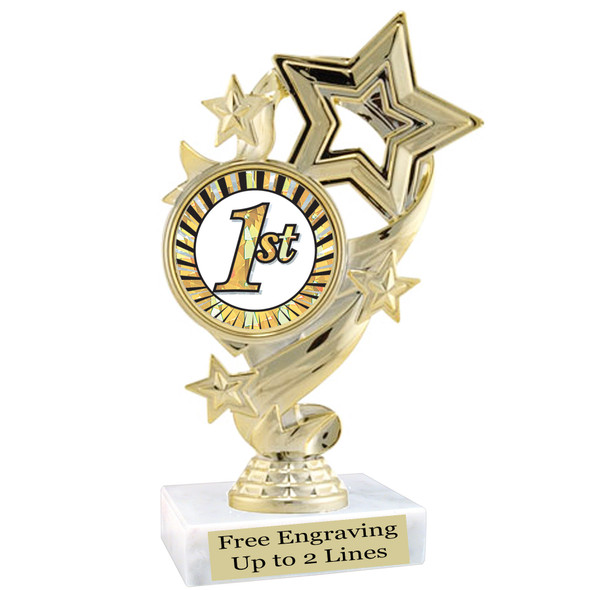Discontinued  Trophy.  Quantities are limited.  f649