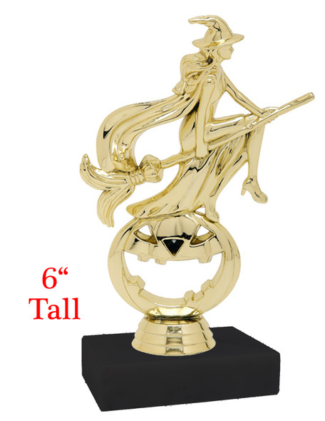 """6"""" Modern  Witch Trophy on choice of base"""