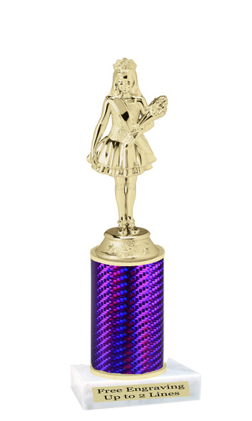 Jr. Queen  trophy.  Great trophy for your pageants, events, contests and more!   1 Column.