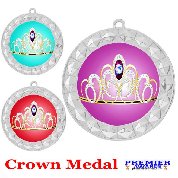 Crown medal.  Great for your pageants, events, contests and for the Queen or Princess in your life.  935s