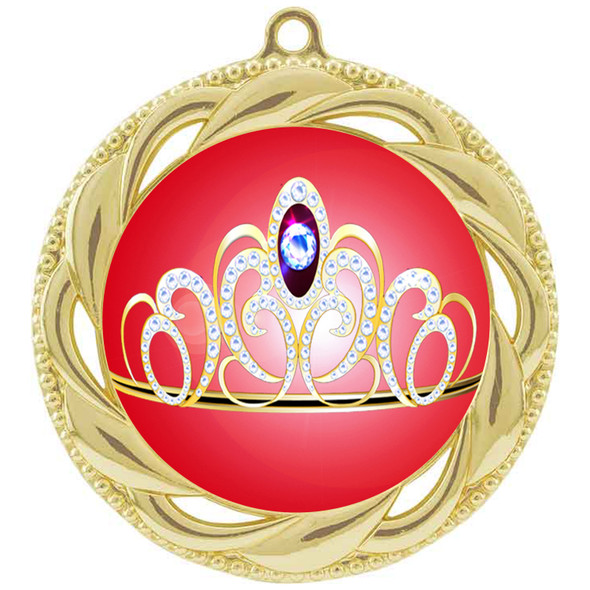 Crown medal.  Great for your pageants, events, contests and for the Queen or Princess in your life.  938 g