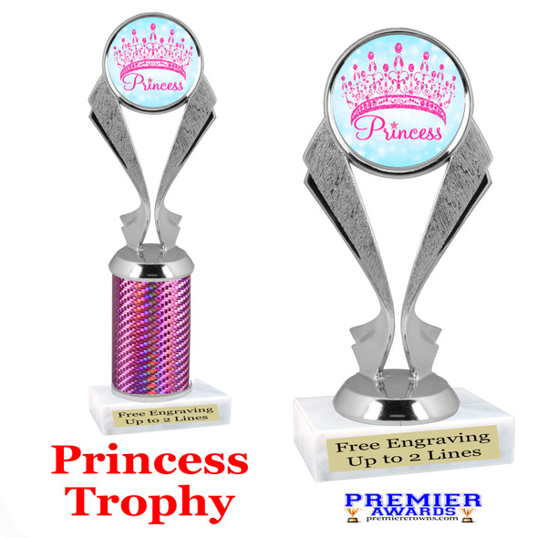 Princess trophy.  Great trophy for your pageants, events, contests and more!   5096