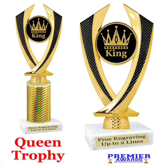 King  trophy.  Great trophy for your pageants, events, contests and more!   4516