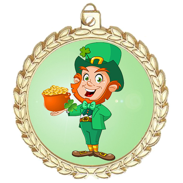 St. Patrick's Day Medal.   Great award for your pageants, events, competitions, parties and more.  -m70