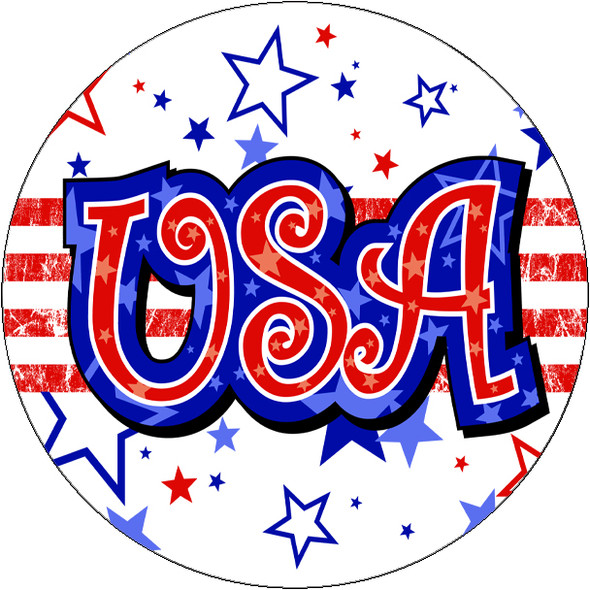 """Patriotic theme trophy.  14"""" tall Great trophy for all of your patriotic themed events!  (90506"""