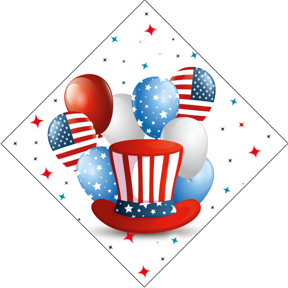 """Patriotic theme trophy. 16"""" tall Great trophy for all of your patriotic themed events!  005"""