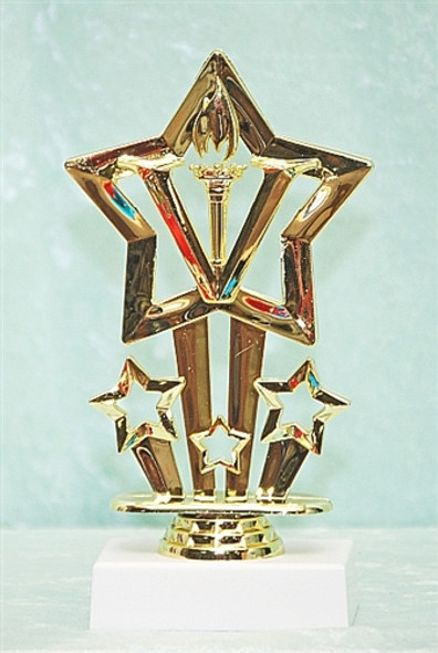 """6"""" Victory Star with choice of base (TR-F764)"""