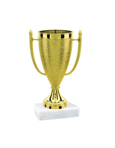 """4"""" Loving Cup on marble base.  Base is 2""""x2"""".  Includes free engraved name plate"""