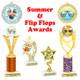 Summer...Flip Flops...Ocean  Themed Awards