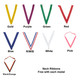 Neck Ribbon Colors
