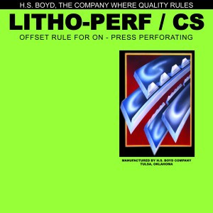 Litho-Perf - 10' Roll - Center Series