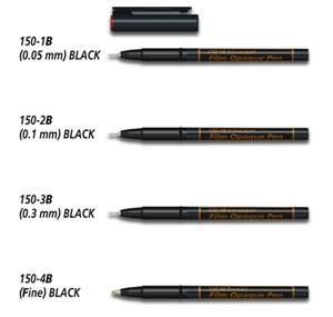 Nikken Film Opaque Deletion Pen - Black