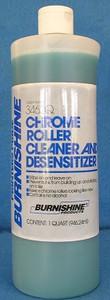 Burnishine Chrome Roller Cleaner and Desensitizer - 1 Qt