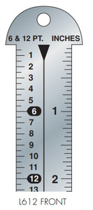 Gaebel Rulers 612 Series Line Gauges