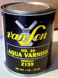 VanSon Aqua Flo Varnish #30 - 1 Lb