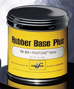 VanSon Rubber Base Plus Inks - Color List for Reference