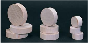 """Lithco Drill Blocks  - 1-1/2"""" and 3"""" Diameter  - (12) pack"""