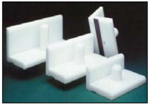 """Lithco Plastic Jogger Blocks - 3"""" and 4"""" Width"""