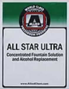 Allied All Star Ultra Fountain Solution - 1 Gal
