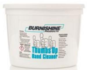 Burnishine Thumbs-Up Hand Cleaner  - 64 oz Tub