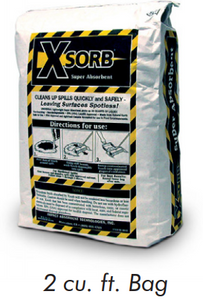 XSORB Universal Spill Clean-Up - 2 cu ft Bag