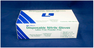 Lithco 5 mil Heavy Duty Powder-Free Nitrile Gloves - 100/box