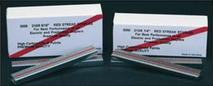 "Red Streak Staples - 1/4"" - Rapid 106 Stapler"