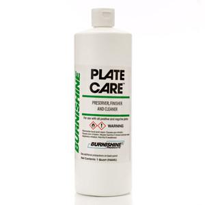 Burnishine Plate Care Finisher Cleaner Preserver - 1 Qt