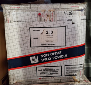 WR Non-Offset Spray Powder Grade 250 -  4 x 10 lb Case (clearance)