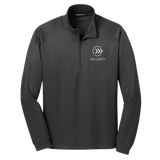 The Cadets 1/4 Zip Knit Embroidered Jacket
