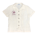 Cadets Ladies White Button Up Shirt