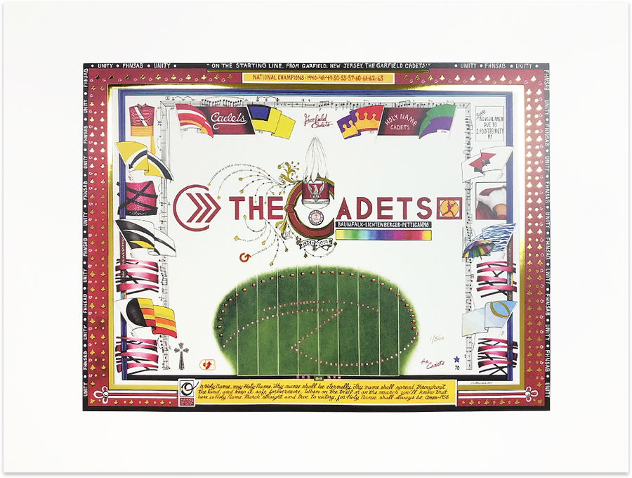 The Cadets Limited Edition Print