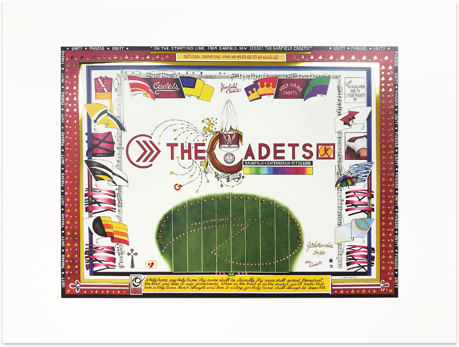 The Cadets Signed Artist Proof Limited Edition Print
