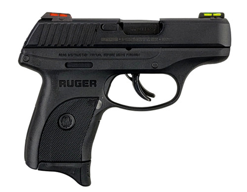 Ruger LC9S 9mm Sub Compact | Fiber Optic Sights