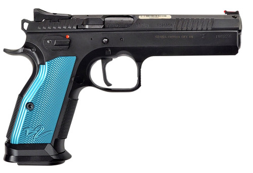 CZ 75 TS2 - Tactical Sport 2 Black / Blue 9mm | (2) Mags