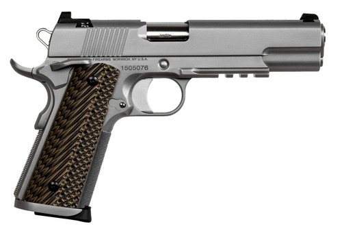 """Dan Wesson Specialist 1911 9mm - Stainless 5"""" 