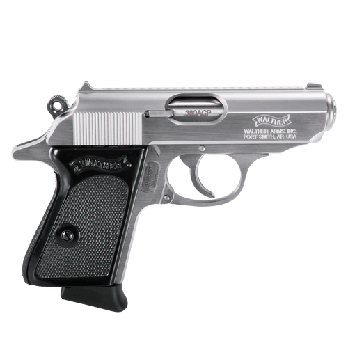 """Walther PPK .380 Stainless 3.3"""" - 4796001"""