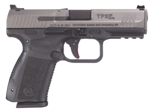 """Canik TP9SF Elite 9mm - 4.19"""" Tungsten - (2) Mags Full Accessory Kit 