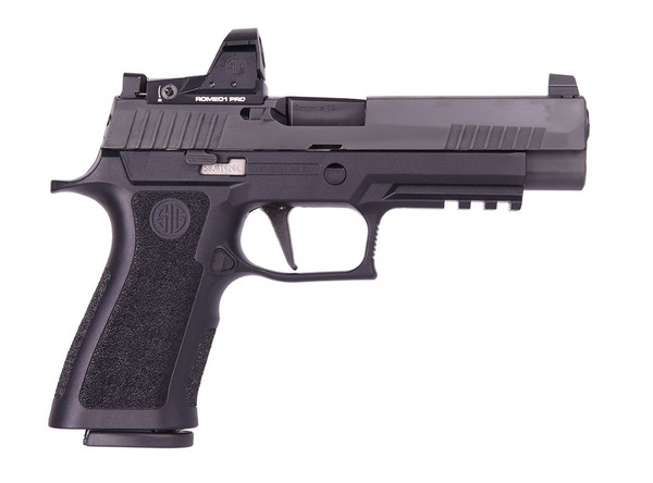 "Sig Sauer P320 X Full 9mm - 4.7"" Nitron  +  Romeo 1 Pro   320XF-9-BXR3-RXP"
