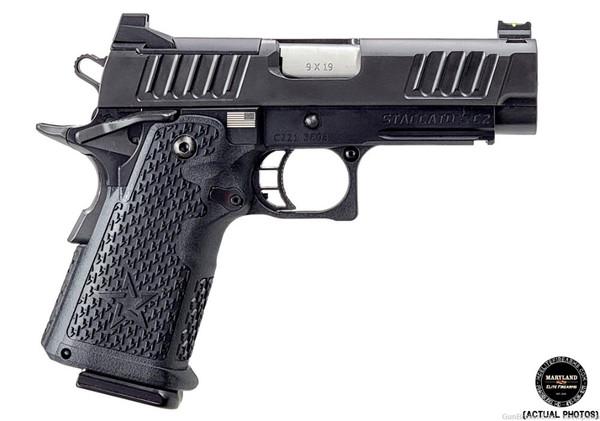 """2021 - STACCATO C2 DPO 2011 - 3.9"""" 9mm Pistol   Optics Ready"""