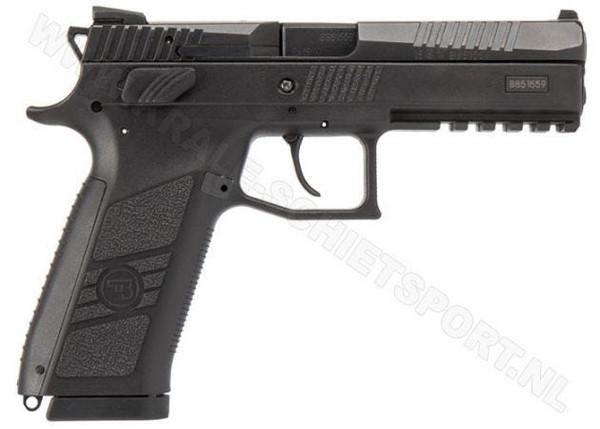 """CZ P09 9mm - 4.54"""" DA/SA Decocker   91620"""