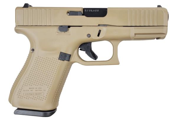 """Glock 19 Gen 5 FDE - 4.01"""" 9mm   Distributor Exclusive"""