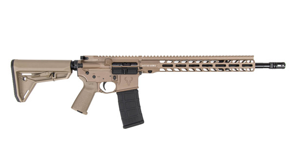 """Stag Arms - STAG-15 Enhanced Tactical 16"""" FDE - MLOK"""