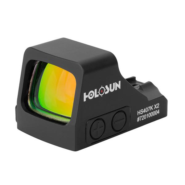 Holosun 407K X2  - Micro Pistol Reflex Sight   Shake-awake