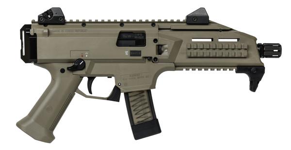 CZ Scorpion EVO 3 S1 FDE - 9MM Pistol | (2) Mags - 01352